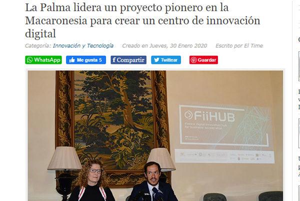 La Palma lidera un proyecto pionero en la Macaronesia para crear un centro de innovación digital