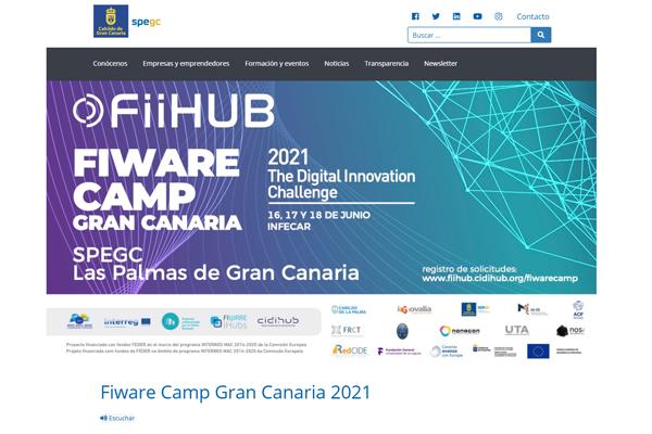 Fiware Camp Gran Canaria 2021